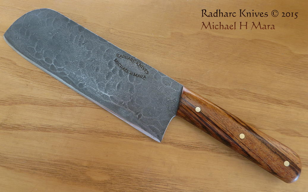 custom handmade knives the chef 39 s special santoku. Black Bedroom Furniture Sets. Home Design Ideas
