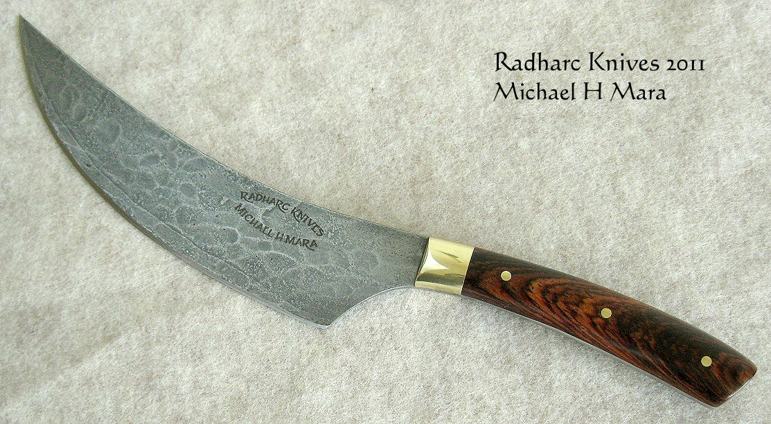 custom handmade knives the super chef 39 s knife. Black Bedroom Furniture Sets. Home Design Ideas