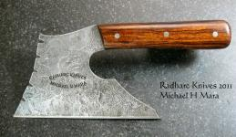 The Veggie Battleaxe chef's knife